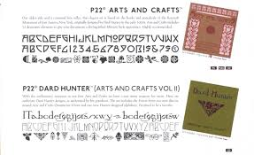 arts and craft font