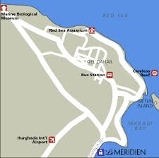 makadi bay map