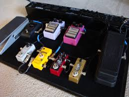 effects pedalboard
