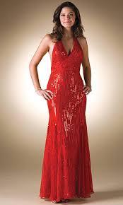 glamour prom dress