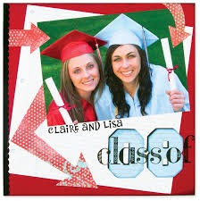 graduation scrapbooking pages