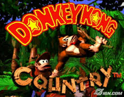 donkey kong country super nes