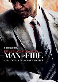 man on fire posters