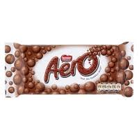 aero chocolate bars