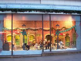 christmas window scenes