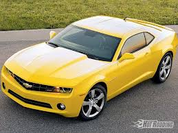 2010 chevy camaro yellow