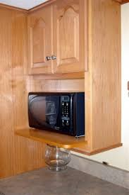 microwave kitchen cabinets