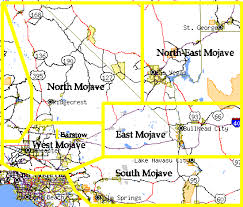 antelope valley map