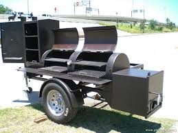 bbq pits on trailers