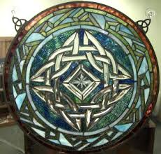 celtic stained glass pattern