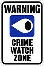 crime signs