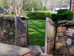 old garden gates