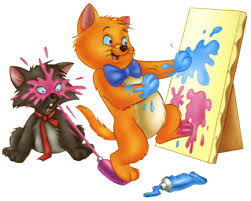 kittens painting