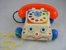 antique fisher price toy
