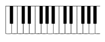 piano keyboard picture