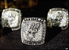 san antonio spurs championship rings