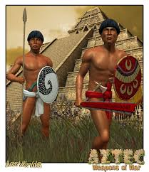 aztec weapons pictures