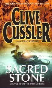 clive cussler sacred stone