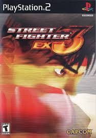 ps2 street fighter ex3