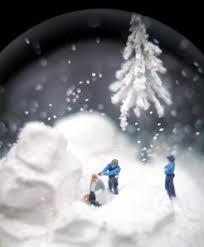 glass snowglobes