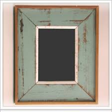 reclaimed wood frames