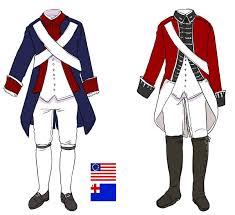 revolutionary war uniform