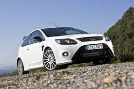 ford focus rs 2009 white