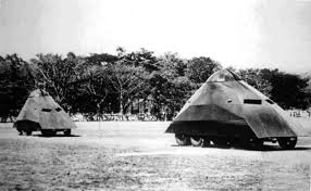 armored cars