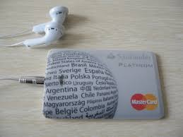 credit card mp3