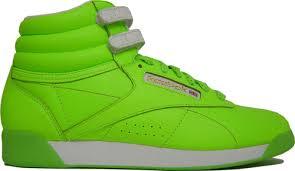 green reeboks