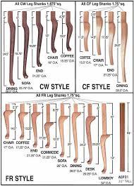 hardwood table legs