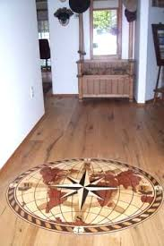 hardwood medallion