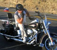 custom touring motorcycle