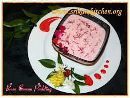 cream pudding