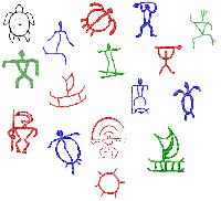 petroglyphs hawaiian