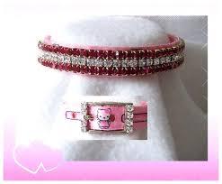 pink cat collars
