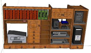 cabinet computer