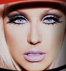 retro eye makeup
