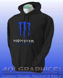 monster energy sweater