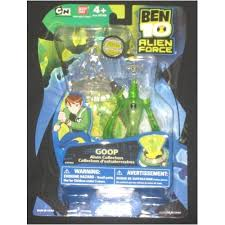 ben 10 alien force goop action figure