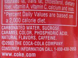 coke ingredient