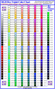 color name chart