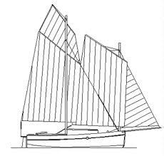model boat drawings