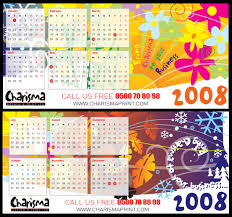 calendar design samples