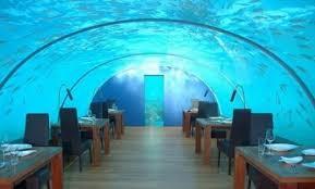 hotels under water