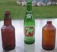 antique 7 up bottle