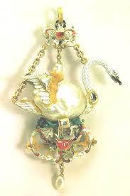 swan pendants
