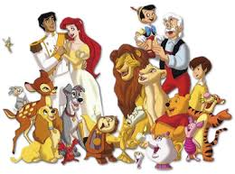 disney cartoon character pics