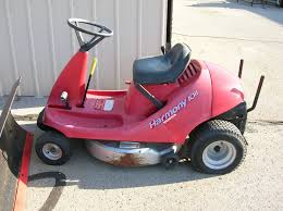 honda harmony riding mower