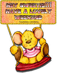 have a great weekend graphic